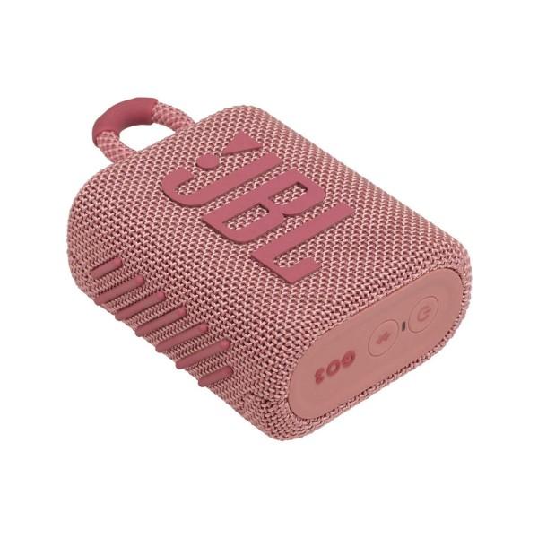 Jbl go3 rosa altavoz inalámbrico portátil 4.2w bluetooth impermeable