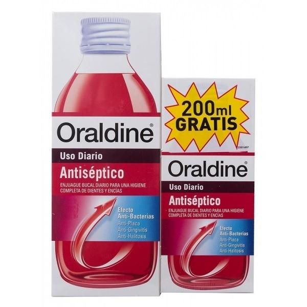 ORALDINE ANTISEPTICO 400ML + 200ML PROMO